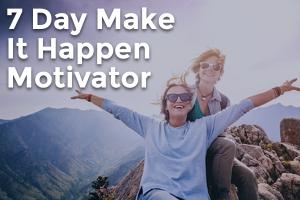 Step by Step Listening 7 Day Make It Happen Motivator