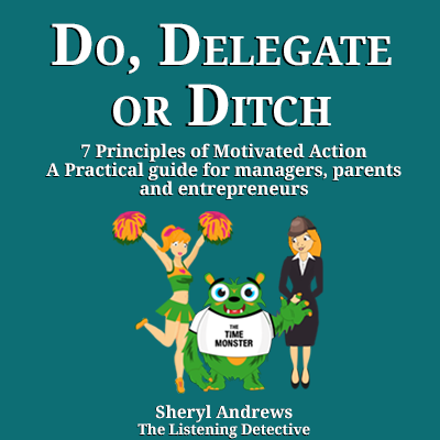 Do Delegate or Ditch the book
